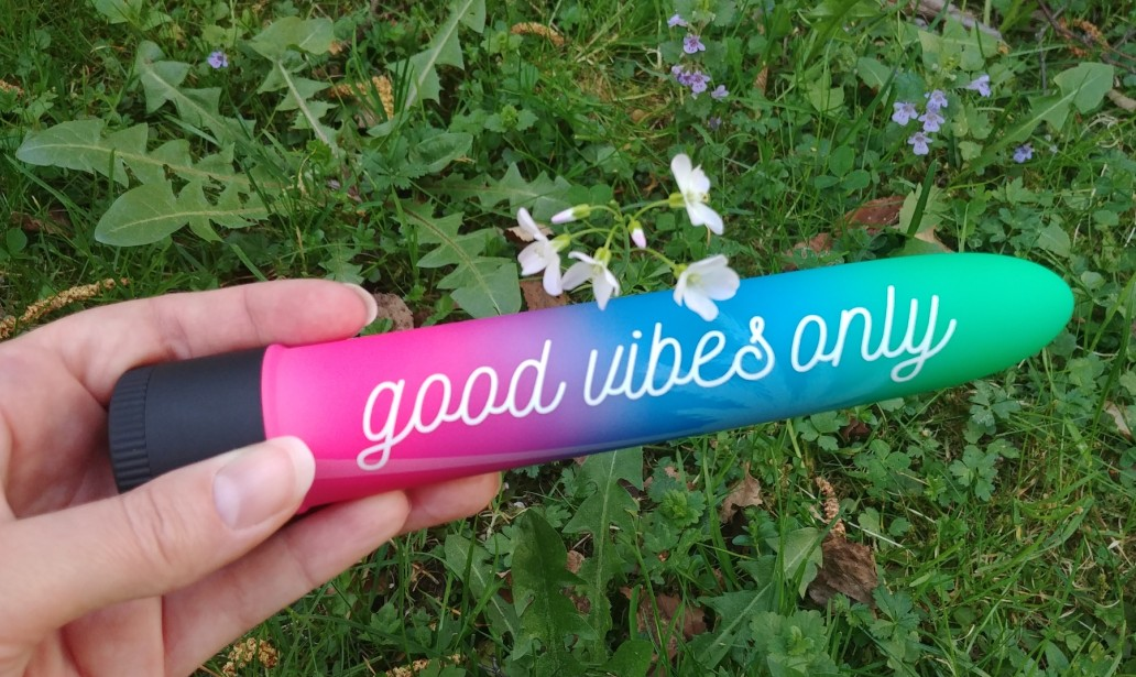 Positive Vibes mit dem Good Vibes Only Vibrator