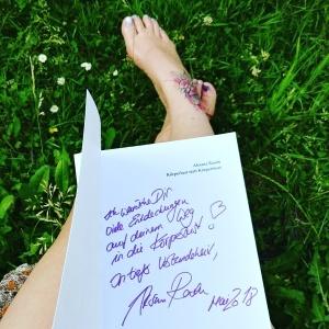Körperlust statt Körperfrust handsigniert von Aksana Rasch