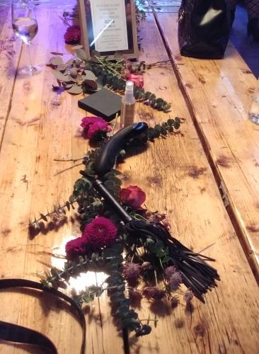 Besinnliche Tischdeko beim Blogger-Event von Orion