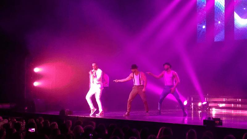 Chippendales beim Tanzen