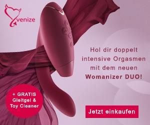 Hol dir doppelt intensive Orgasmen bei venize.de