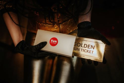 Golden FUN TIcket in der SUNDAZE Box